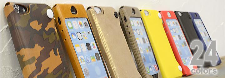 iPhone本革カバー