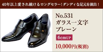 No.531ガラス一文字プレーン